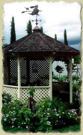 The Gazebo at the Hope-Merrill House